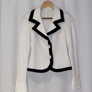 White Fitted Blazer
